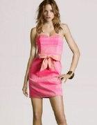 Sukienka Gorset H&M różowa