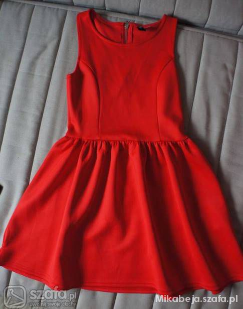 Sukienka rozkloszowana H&M divided