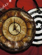 RESTYLE Okrągła Torba Zegar Victorian Clock...