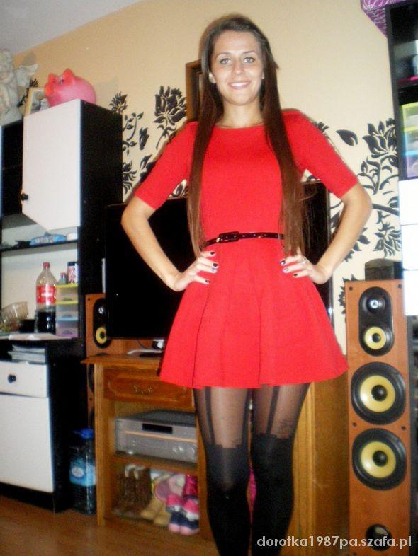 Mój styl ulubiona sukienka