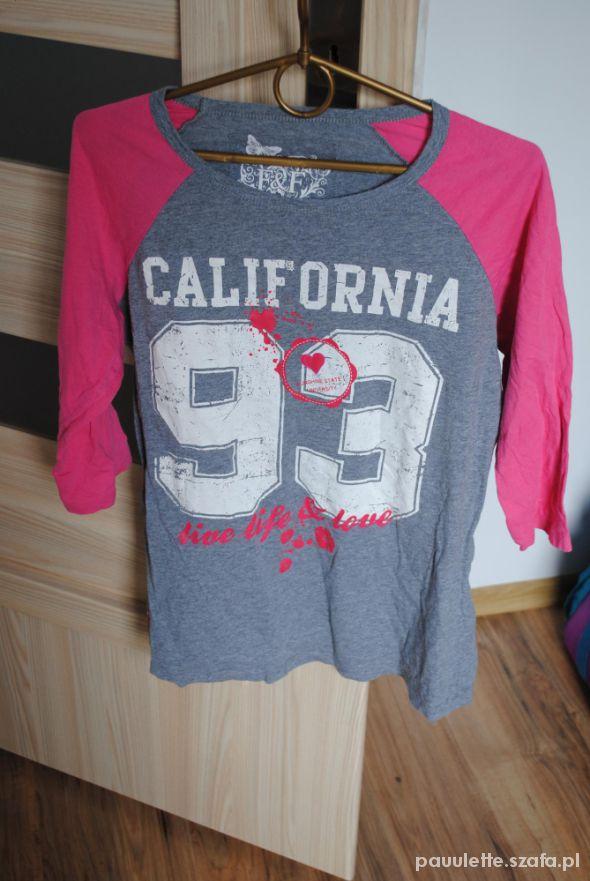 Bluzki bluza california oversize
