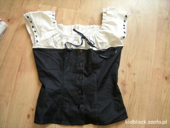 Bluzki sliczna z jeansem retro 36 38