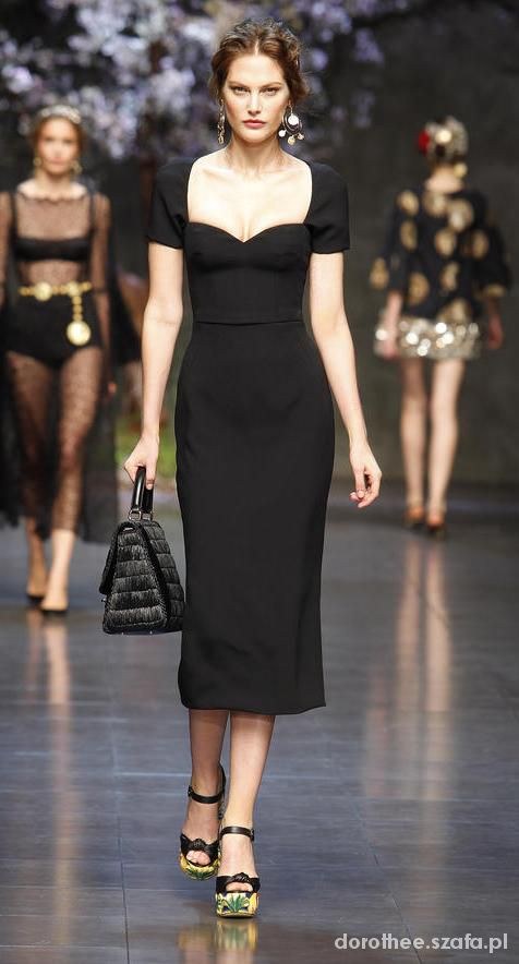 Black Dress D&G