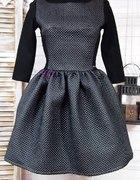 Najmodniejsza sukienka pikowana