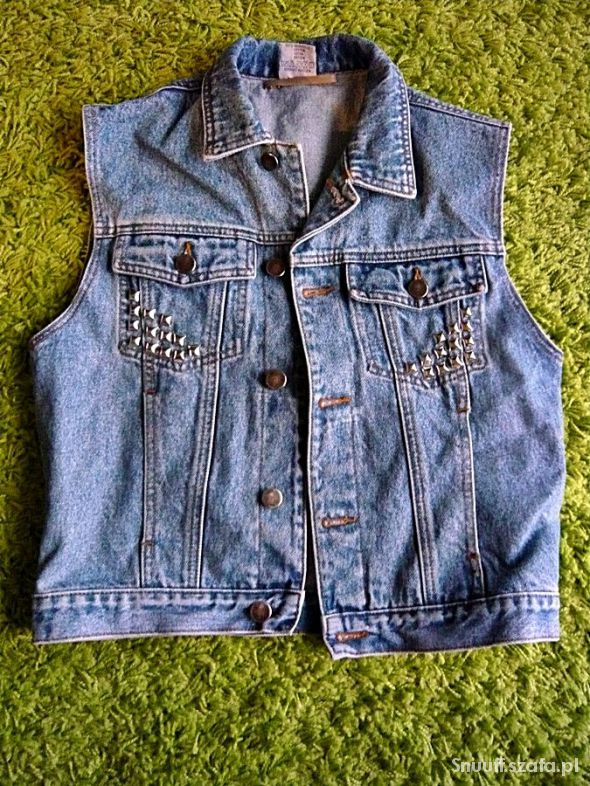 kamizelka jeansowa 40 na wymianę