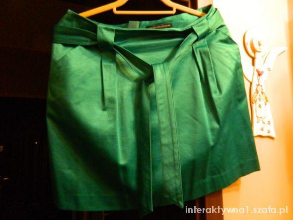 Spódnice MINI zieleń i turkus 40 do 42