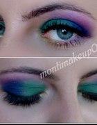 makijaż kolorowy