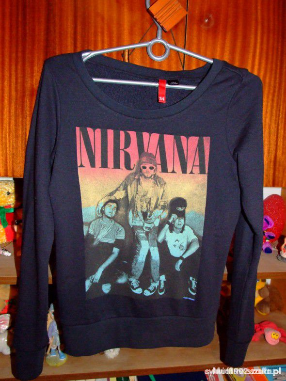 bluza nirvana hM