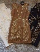 Sukienka z ćwiekami dzetami
