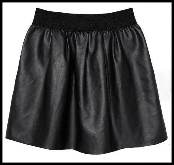 Spódnice NOWA skórzana spodniczka Hit blogerek