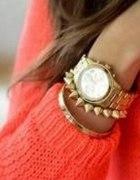 neon gold zegarek...