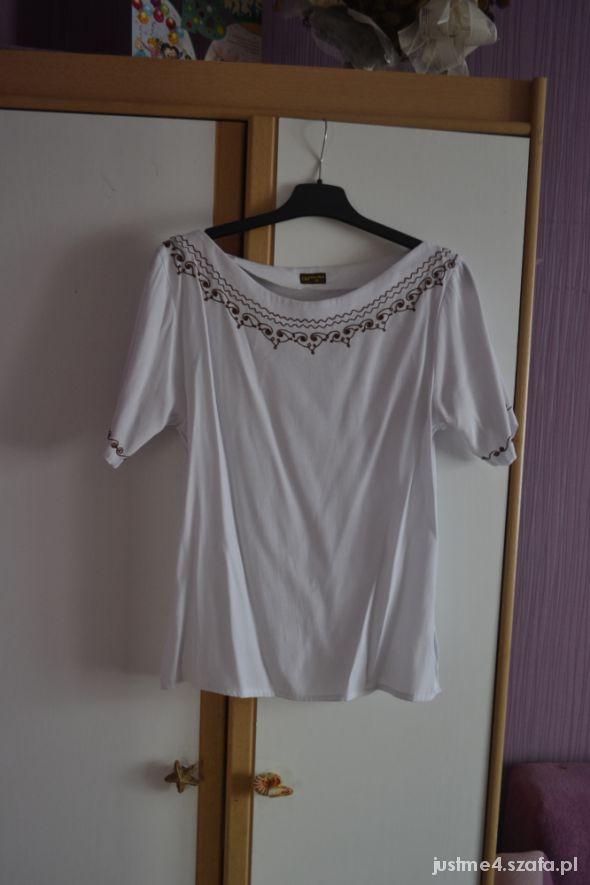 Bluzki biała bluzka boho