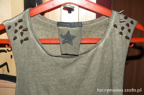 Bluzki Bluzka z ćwiekami ATMOSPHERE