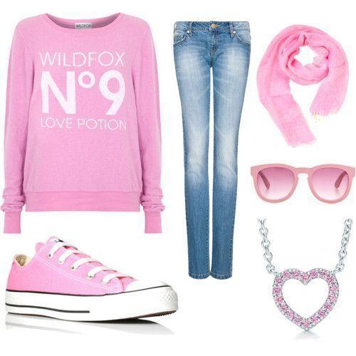 Do szkoły Różowo