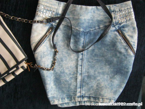 Spódnice mega marmurkowa spódnica HM xs