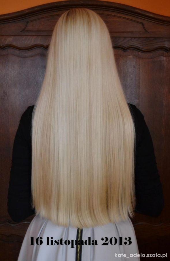 moje włosy w listopadzie