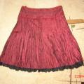 Jak nowa spódnica z koronką