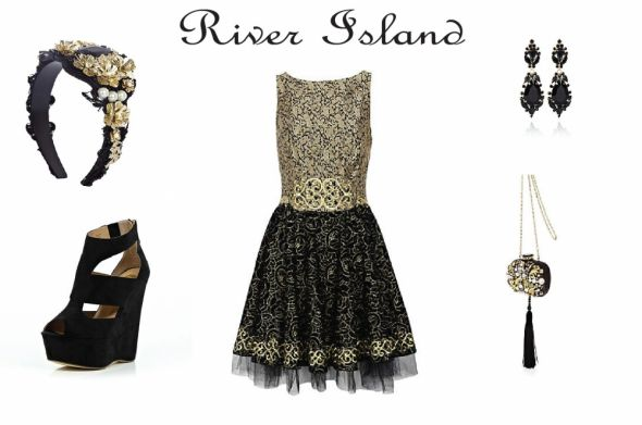 Eleganckie beautiful baroque RIVER ISLAND