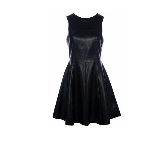 1599bb13d7ad sukienka rozkloszowana pullbear piankowa czarna w Ubrania - Szafa.pl