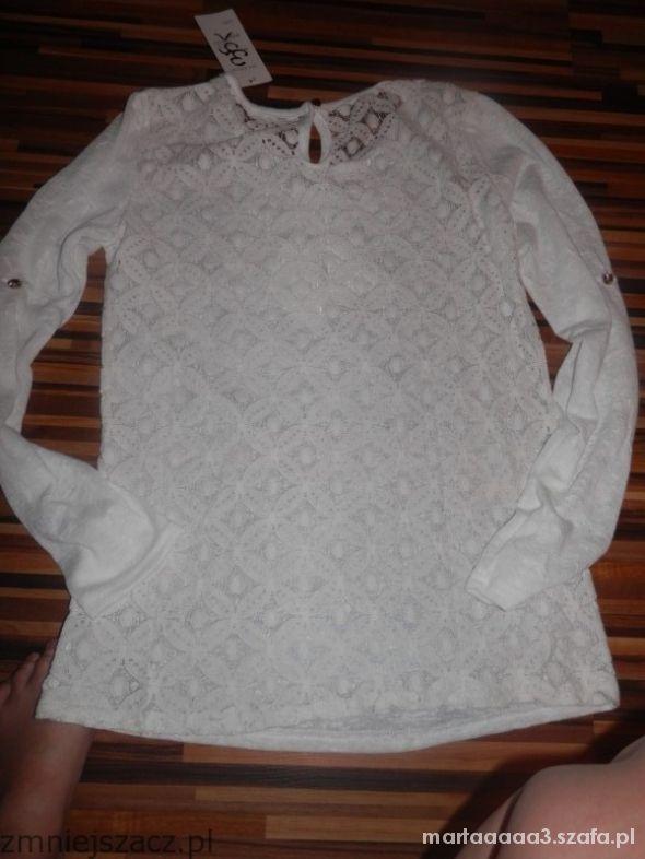 Bluzki biała bluzka