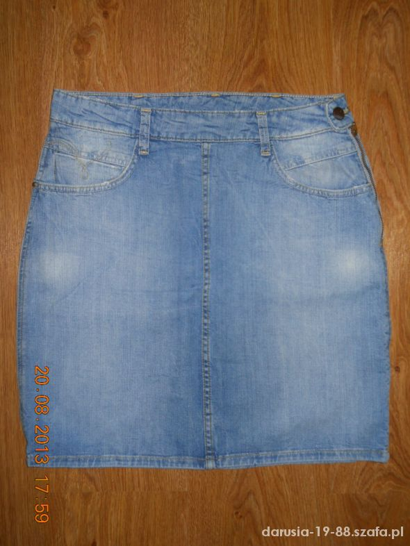 Spódnice Nowa super spódnica rozmiar 28 jasny jeans
