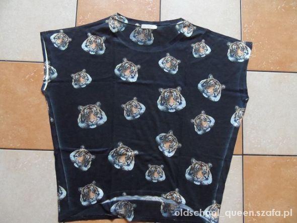 Bluzki oversize kimono z tygrysami TK MAXX UNIKAT