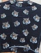 oversize kimono z tygrysami TK MAXX UNIKAT