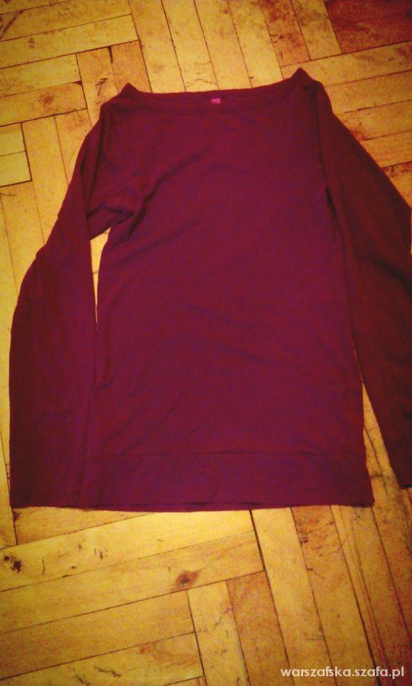 Bluzki fioletowa bluzka