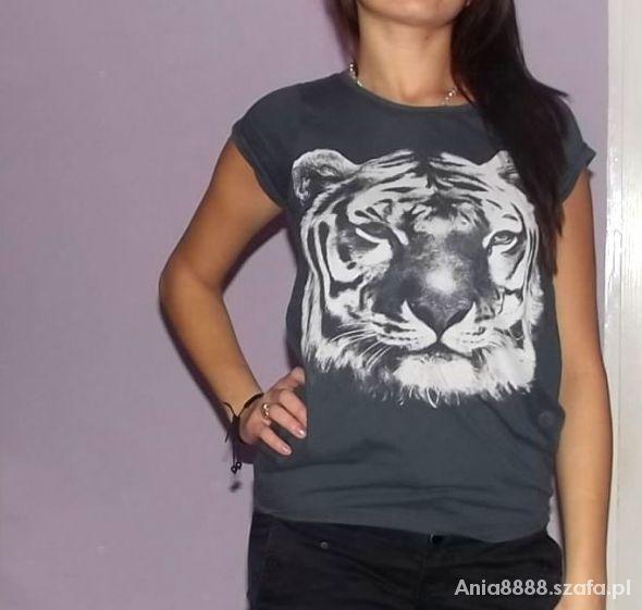 Bluzki Szary Tygrys