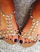Sandałki Pop Kiss Clear...