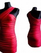 czerwona seksowna sukienka na karnawał tuba SM