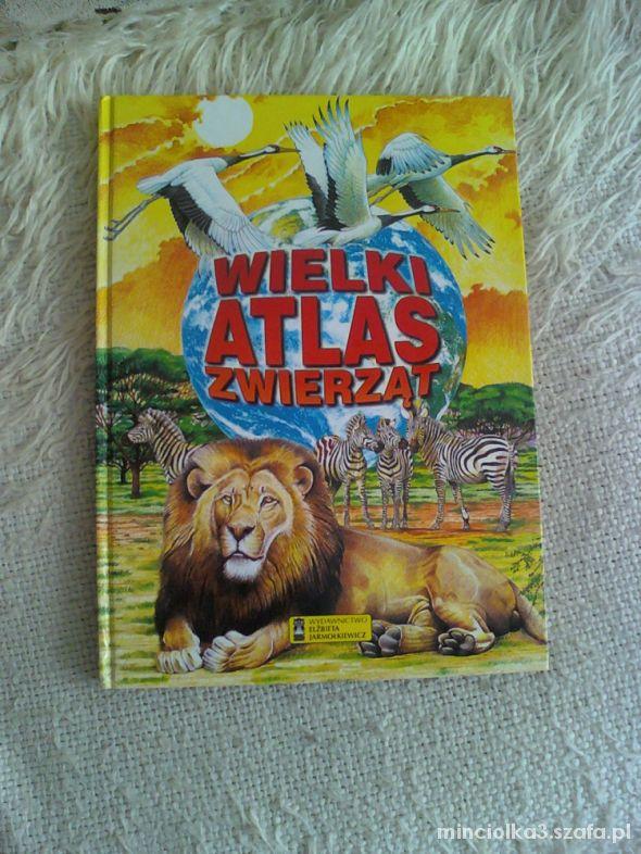 Zabawki Wielki atlas zwierząt jak NOWY