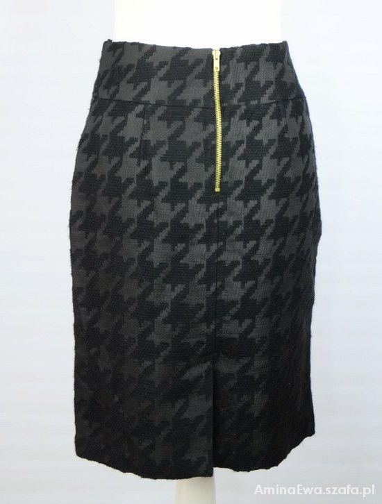 Spódnice zip duża pepitka