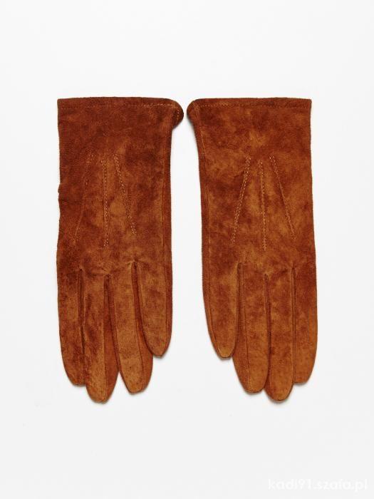 szukam rękawiczek zamszowych