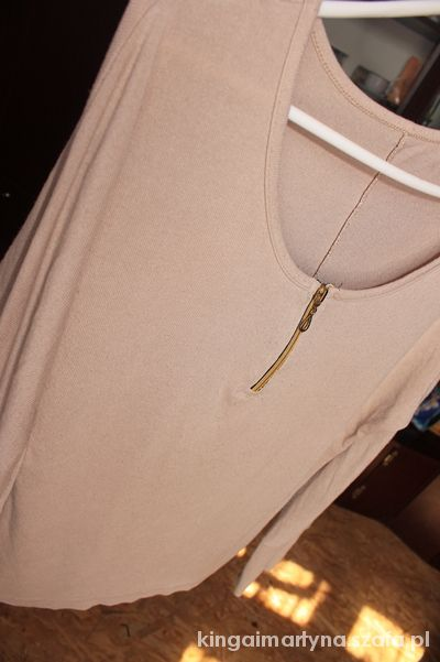 Bluzki bluzeczka zip