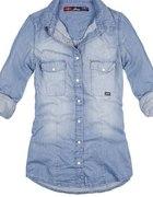 damska koszula jeansowa w rozmiarze M 38 lub 40