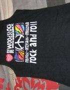 czarna koszulka woodstock 2012