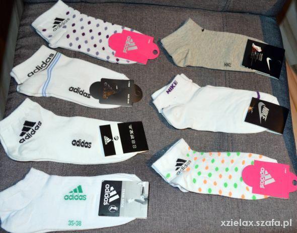 Skarpetki Nike Adidas