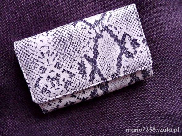 31efe8d711d1a NOWY portfel animal print skóra węża wężowy sexy w Portfele - Szafa.pl