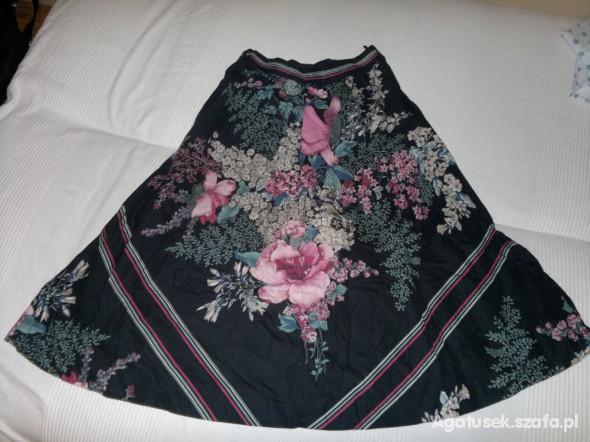 Spódnice świetna spódnica w kwiaty retro