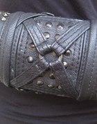 Jungle Tribe stud frame strappery cuff...