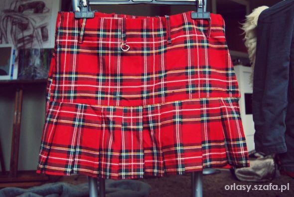 Spódnice Szkocka krata