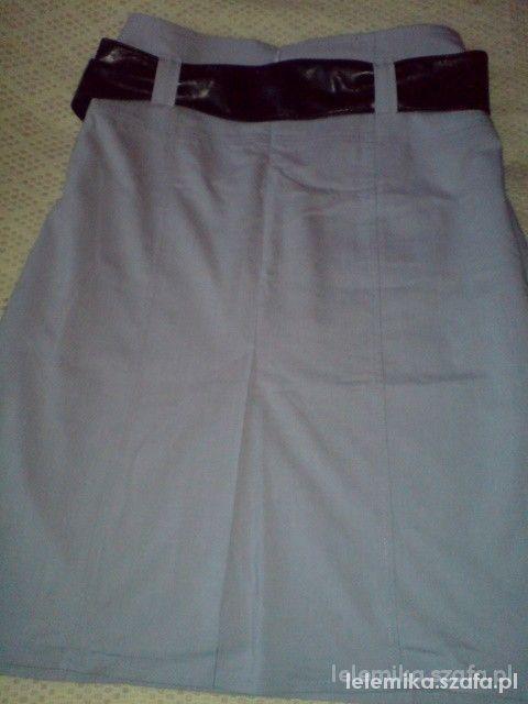 Spódnice Popielata spodniczka