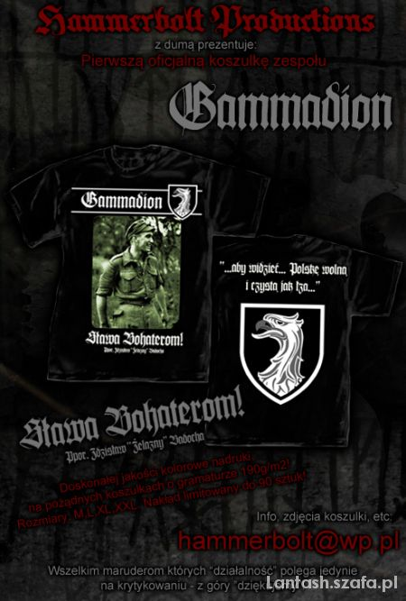 TORMENTIA GAMMADION skinhead shg rac