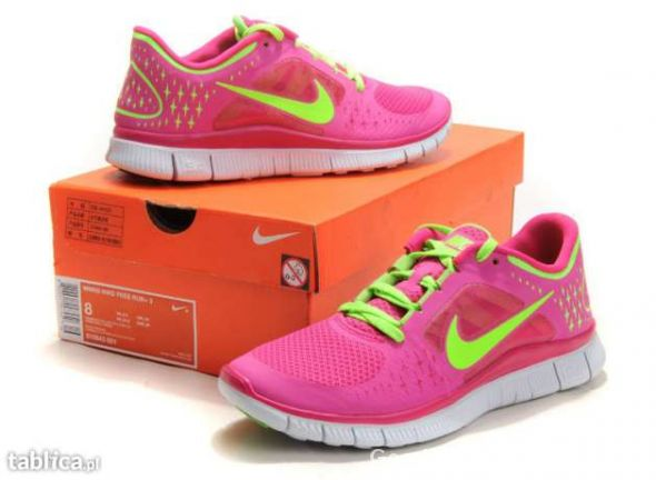 Nike Free Run 3 Womens Running Shoes kolory