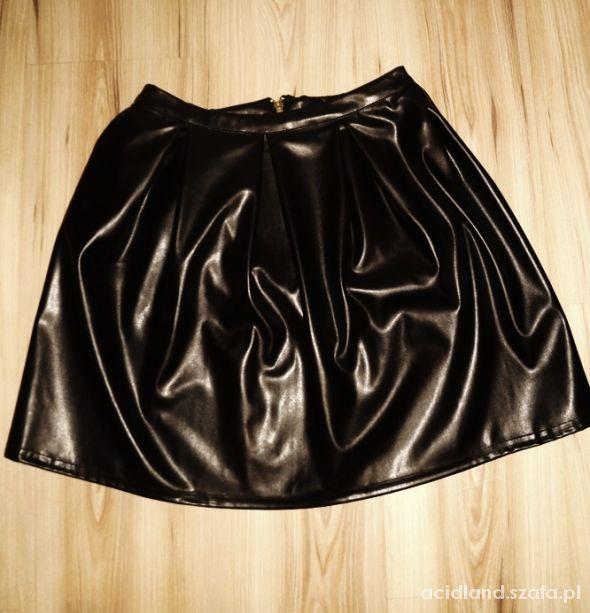 Spódnice spódnica rozkloszowana z wysokim stanem 36