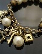 Perłowa bransoletka w stylu vintage