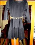 sukienka rozkloszowana zip...
