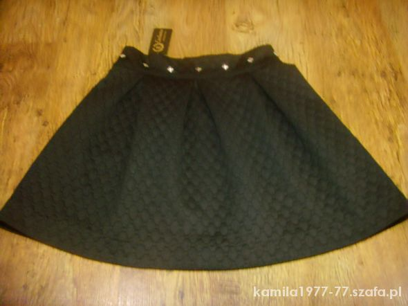 Spódnice spódnica pikowana ćwieki