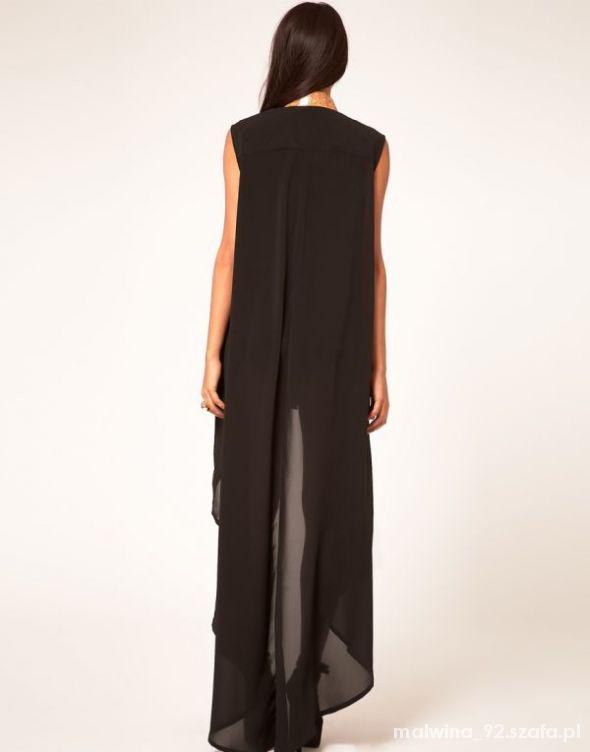 Asymetryczna sukienka...